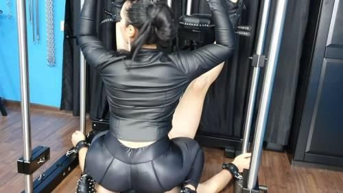 Mistress Ezada Sinn - Smothered Under A Round Big Spandex-Clad Milf Ass