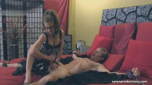 Mistress Aleanas Queendom - Orgasm Ruined By His Governess